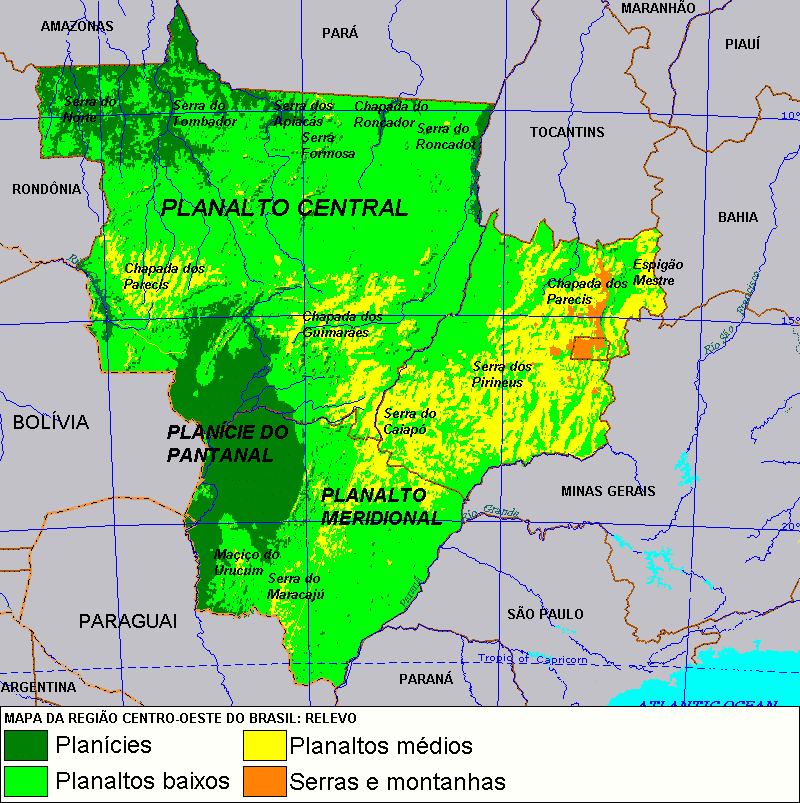 Centro-Oeste Brasileiro