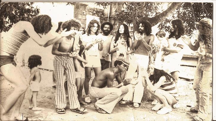 Novos Baianos hippy