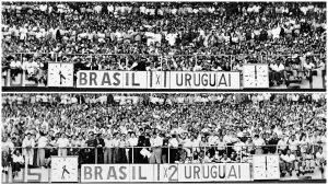 Uruguai 2 x 1 Brasil
