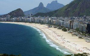 Cidade do Rio de Janeiro vista de cima