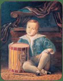Dom Pedro II ainda bebê