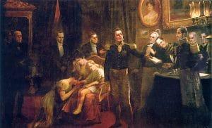 Imagem da Abdicação de Dom Pedro I
