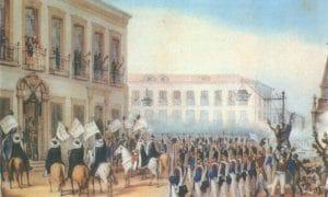Aclamação de D Pedro II em 9 de abril de 1831